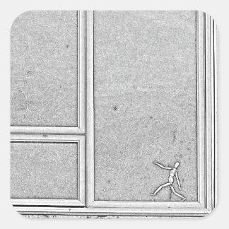 Adesivo Quadrado dimensão