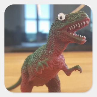 Adesivo Quadrado dinosawr_rawr