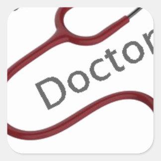 Adesivo Quadrado Doutor futuro Dr.