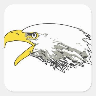 Adesivo Quadrado Eagle