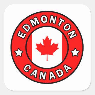 Adesivo Quadrado Edmonton Canadá
