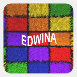 ADESIVO QUADRADO EDWINA