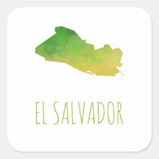 Adesivo Quadrado El Salvador