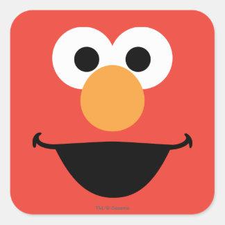 Adesivo Quadrado Elmo enfrenta a arte
