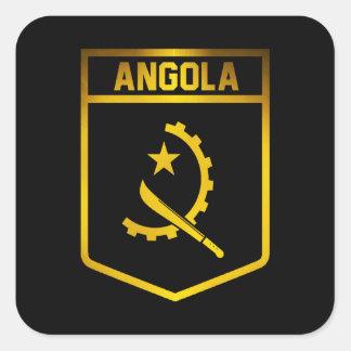 Adesivo Quadrado Emblema de Angola