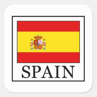Adesivo Quadrado Espanha