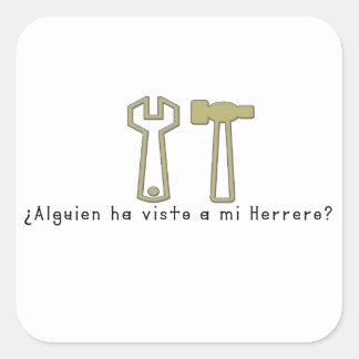 Adesivo Quadrado Espanhol-Ferreiro
