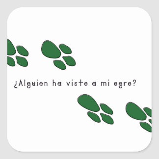 Adesivo Quadrado Espanhol-Ogre