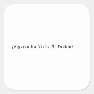 Adesivo Quadrado Espanhol-Vila