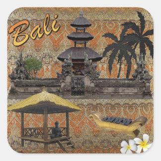 Adesivo Quadrado Este é Bali