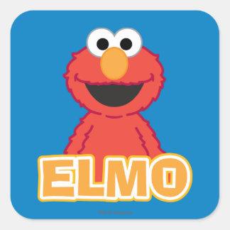 Adesivo Quadrado Estilo do clássico de Elmo