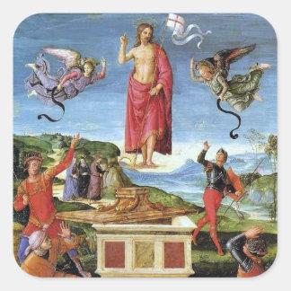 Adesivo Quadrado Etiqueta: Ressurreição de Kinnaird