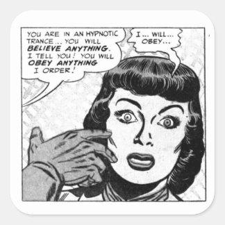 Adesivo Quadrado Eu…… obedecerei…
