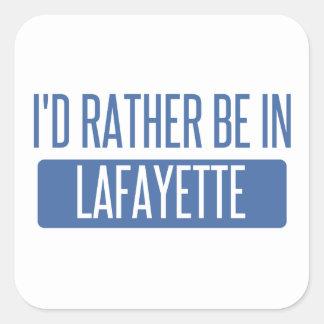 Adesivo Quadrado Eu preferencialmente estaria em Lafayette DENTRO