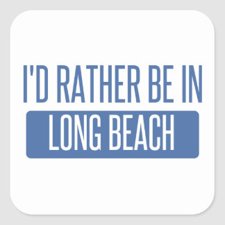 Adesivo Quadrado Eu preferencialmente estaria em Long Beach CA