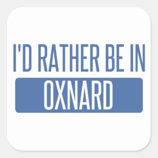 Adesivo Quadrado Eu preferencialmente estaria em Oxnard