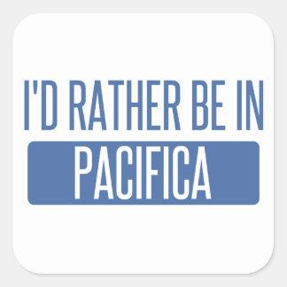 Adesivo Quadrado Eu preferencialmente estaria em Pacifica
