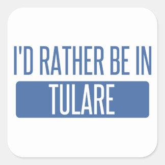 Adesivo Quadrado Eu preferencialmente estaria em Tulare
