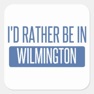 Adesivo Quadrado Eu preferencialmente estaria em Wilmington DE