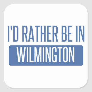 Adesivo Quadrado Eu preferencialmente estaria em Wilmington NC