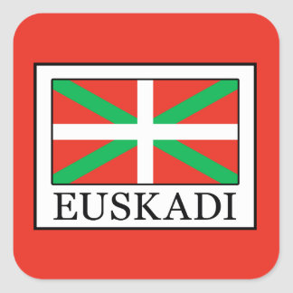 Adesivo Quadrado Euskadi