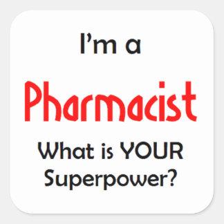 Adesivo Quadrado farmacêutico