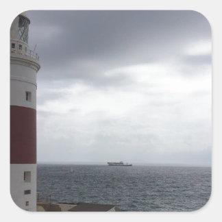 Adesivo Quadrado Farol de Gibraltar
