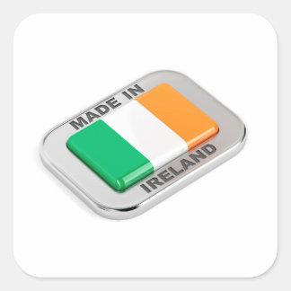 Adesivo Quadrado Feito em Ireland