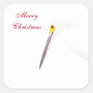 Adesivo Quadrado Feliz Natal do Egret
