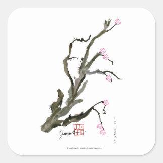 Adesivo Quadrado Flor de cerejeira 15 Tony Fernandes
