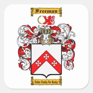 Adesivo Quadrado Freeman (irlandês)