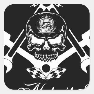 Adesivo Quadrado Freemason-Widows-Sons-Masonic-Hotrod-Logo-20160407
