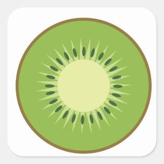 Adesivo Quadrado fruta de quivi
