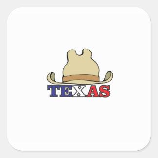 Adesivo Quadrado gajo texas