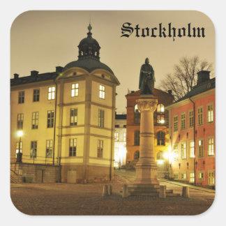 Adesivo Quadrado Gamla Stan em Éstocolmo, suecia