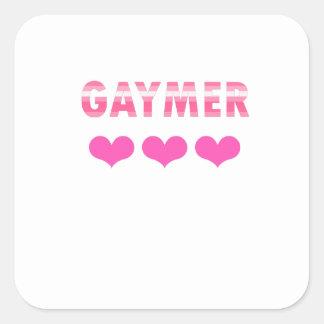 Adesivo Quadrado Gaymer (v2)