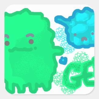 Adesivo Quadrado Germes!