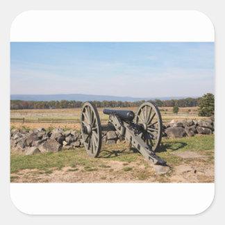 Adesivo Quadrado Gettysburg: Uma ideia da carga de Pickett