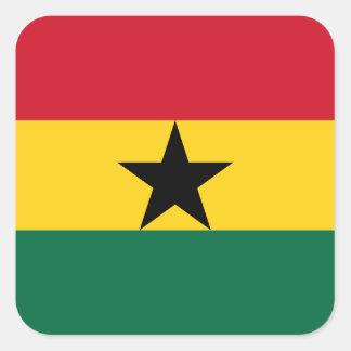 Adesivo Quadrado Ghana