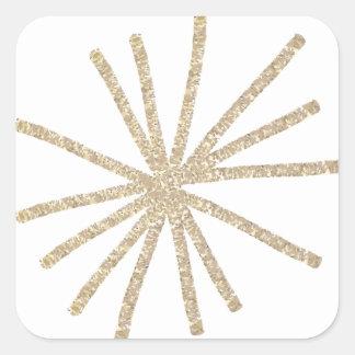 Adesivo Quadrado Giftwrap pelo estúdio de NJCO