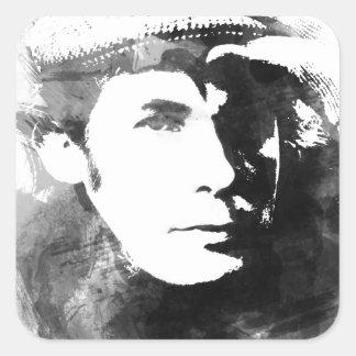 Adesivo Quadrado Glenn Gould