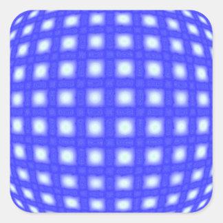 Adesivo Quadrado Globo quadrado do ponto