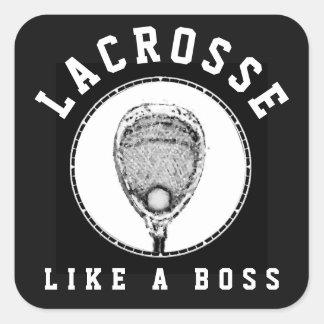 Adesivo Quadrado Goalie do Lacrosse