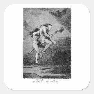 Adesivo Quadrado Goya_-_Caprichos_