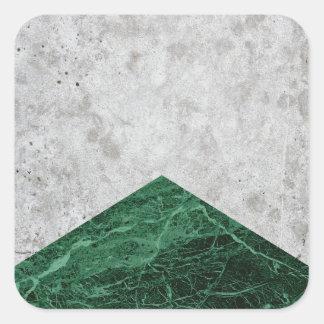 Adesivo Quadrado Granito concreto #412 do verde da seta