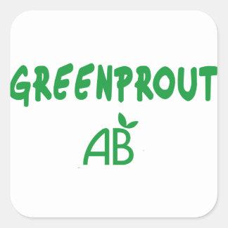 Adesivo Quadrado Greenprout ecológico