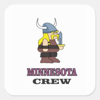 Adesivo Quadrado Grupo de Minnesota