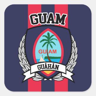 Adesivo Quadrado Guam