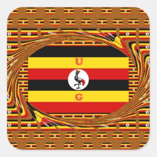 Adesivo Quadrado Hakuna surpreendente bonito Matata Uganda bonito