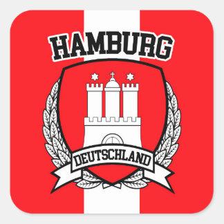 Adesivo Quadrado Hamburgo